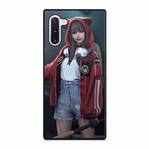 GIRL BASEBALL HOODIE Samsung Galaxy Note 10 Case