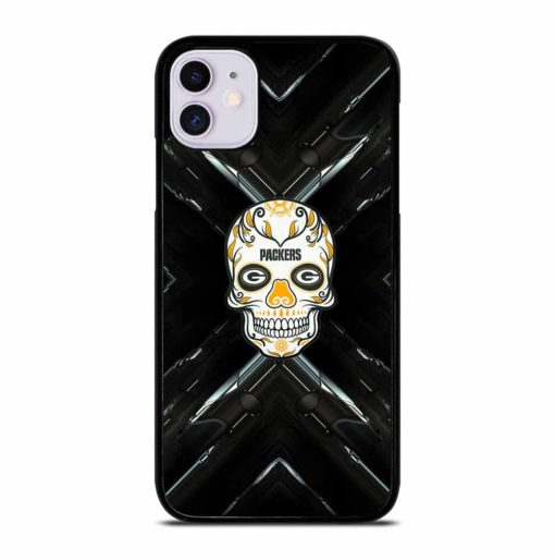 GREEN BAY PACKERS SKULL iPhone 11 Case