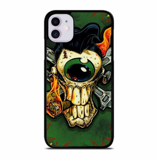 GREEN RAT FINK iPhone 11 Case Cover