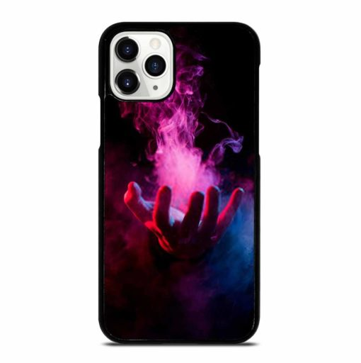 HAND INSIDE COLORFUL SMOKE ON BLACK iPhone 11 Pro Case