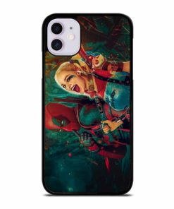 HARLEY QUINN AND DEADPOOL iPhone 11 Case