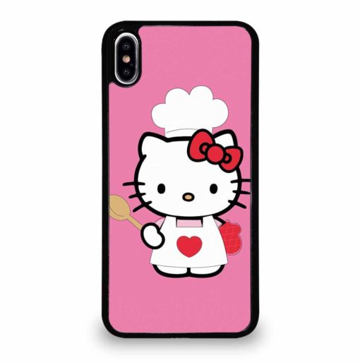 HELLO KITTY COOKING iPhone XS Max Case
