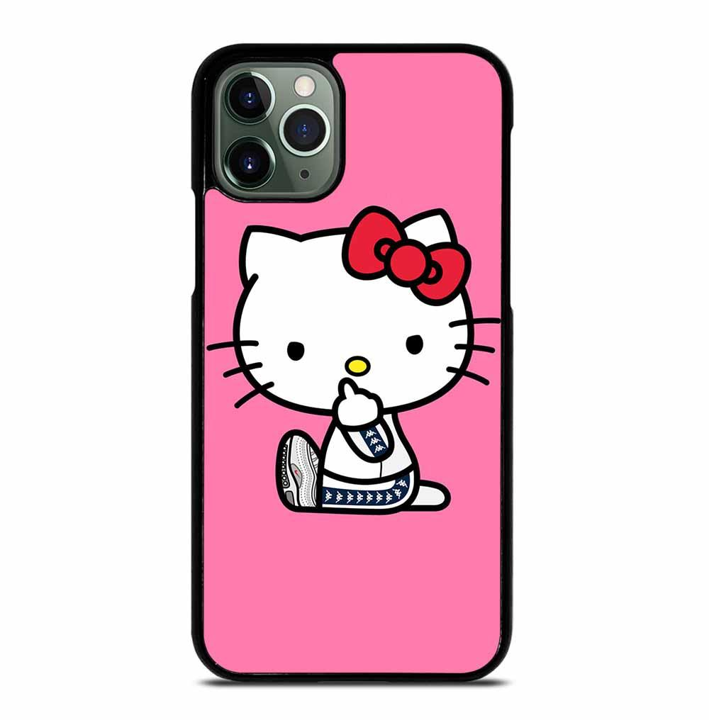 HELLO KITTY MIDDLE FINGER iPhone 11 Pro Max Case