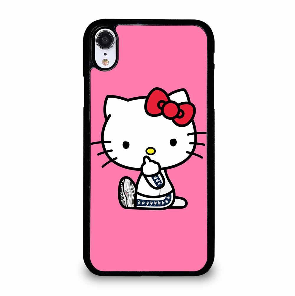 HELLO KITTY MIDDLE FINGER iPhone XR Case