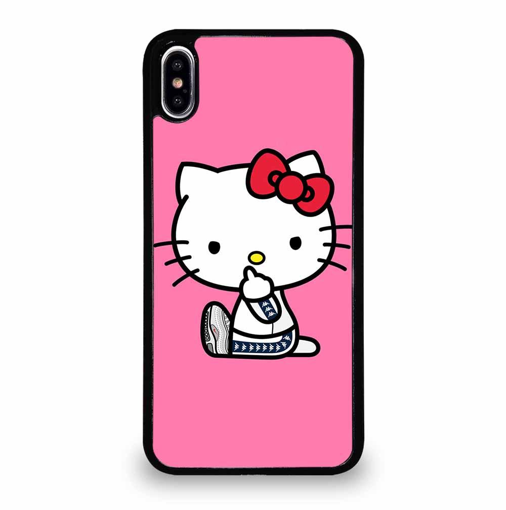 HELLO KITTY MIDDLE FINGER iPhone XS Max Case