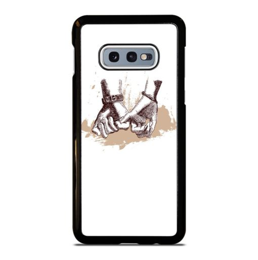 HOLDING PROMISE HAND Samsung Galaxy S10e Case