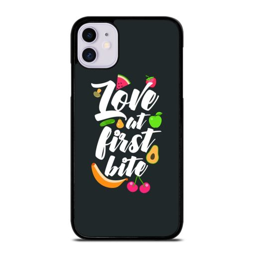 Inspirational Food Quotes iPhone 11 Case