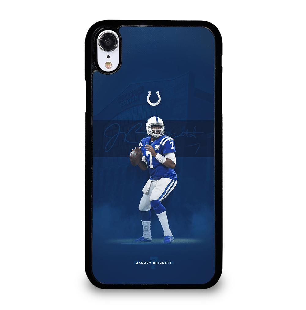 JACOBY BRISSETT INDIANAPOLIS COLTS iPhone XR Case