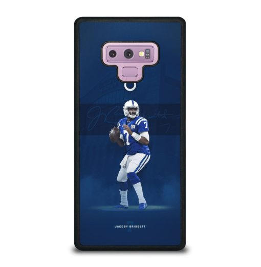 JACOBY BRISSETT INDIANAPOLIS COLTS Samsung Galaxy Note 9 Case