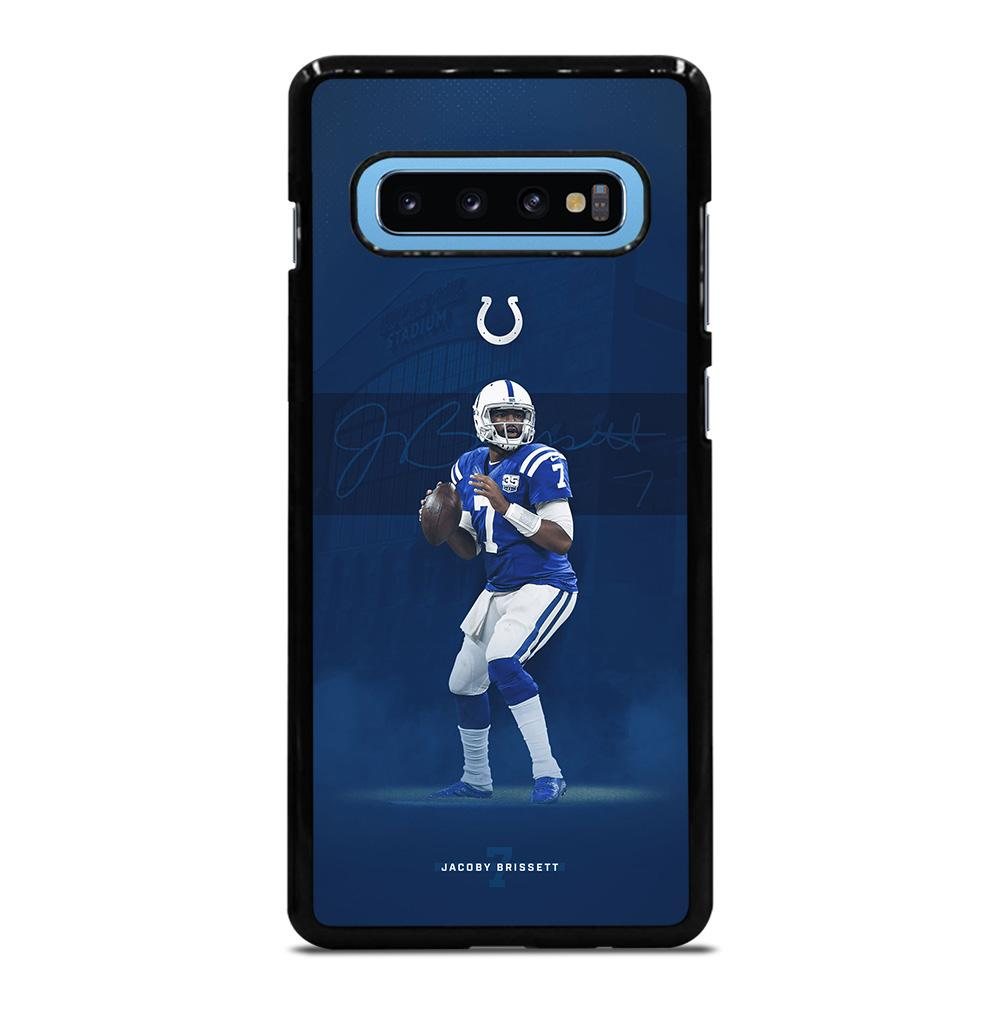 JACOBY BRISSETT INDIANAPOLIS COLTS Samsung Galaxy S10 Plus Case