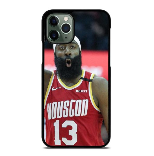 James Harden Rockets Art5 iPhone 11 Pro Max Case