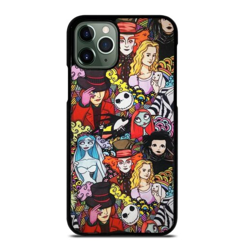 Johnny Depp Faces Characters iPhone 11 Pro Max Case