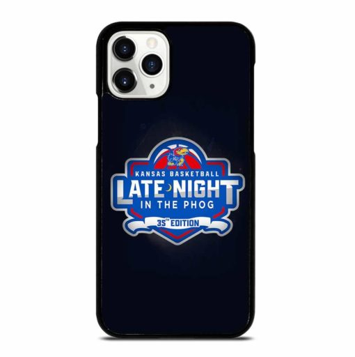 KANSAS JAYHAWKS LOGO iPhone 11 Pro Case