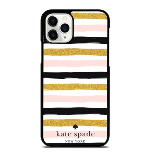 KATE SPADE PINK STRIPED SEAMLESS iPhone 11 Pro Case