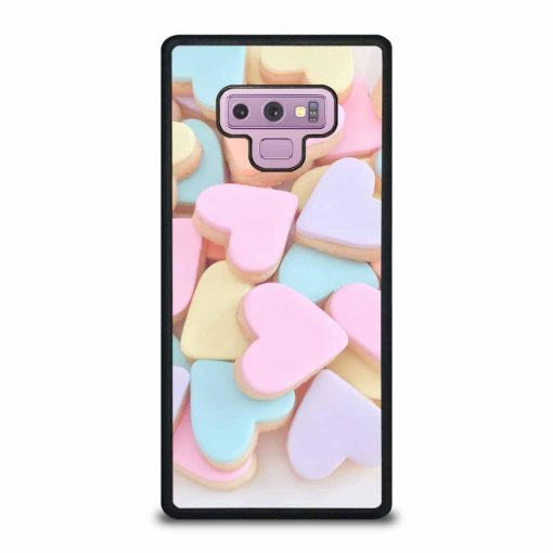 KAWAII CUTE PASTEL PINK LOVE HEARTS CANDY Samsung Galaxy Note 9 Case