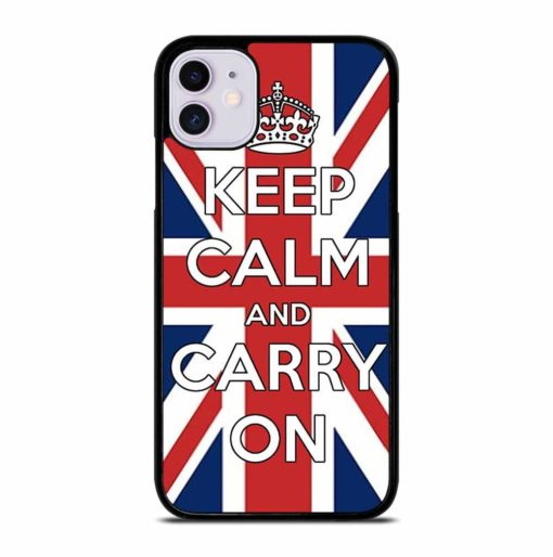 KEEP CALM UK iPhone 11 Case Cover