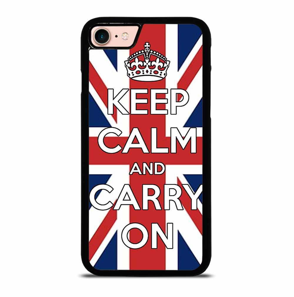 KEEP CALM UK iPhone 7 / 8 Case Cover