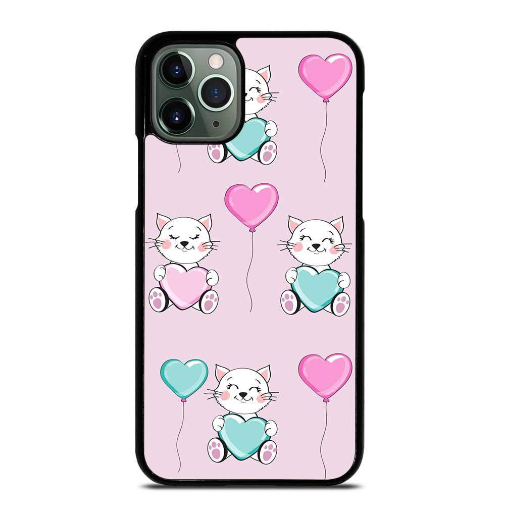 KITTEN HOLDS A HEART iPhone 11 Pro Max Case
