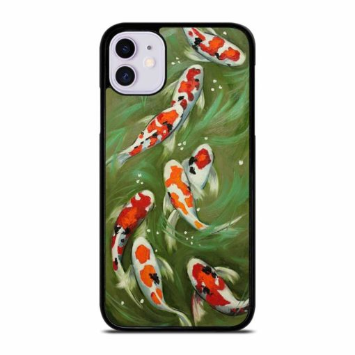 KOI FISH PAINTING iPhone 11 Case