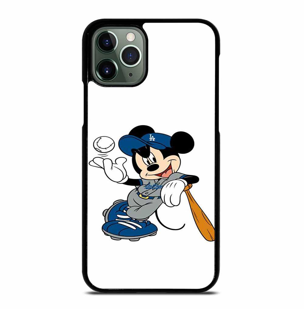 LA DODGERS MICKEY MOUSE iPhone 11 Pro Max Case