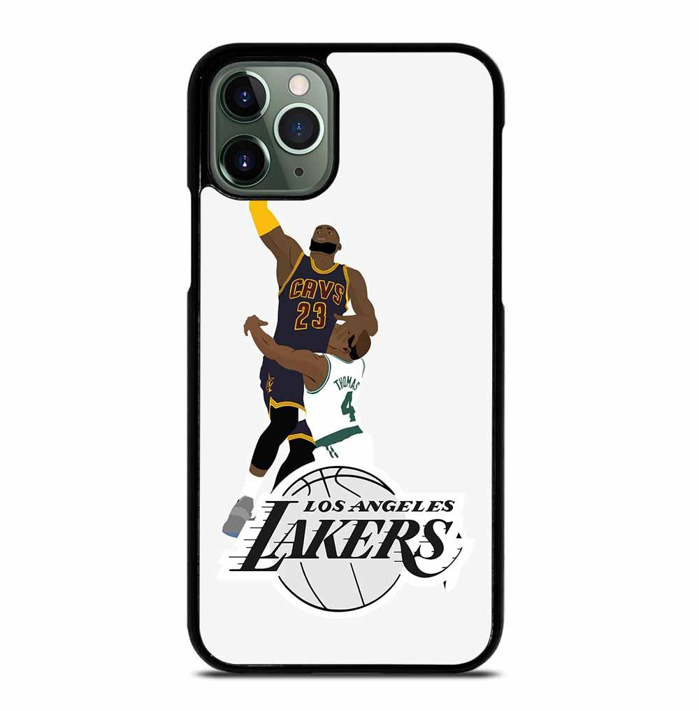 LEBRON JAMES KOBE LA LAKERS iPhone 11 Pro Max Case