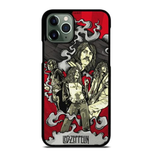 LED ZEPPELIN ART POSTER iPhone 11 Pro Max Case