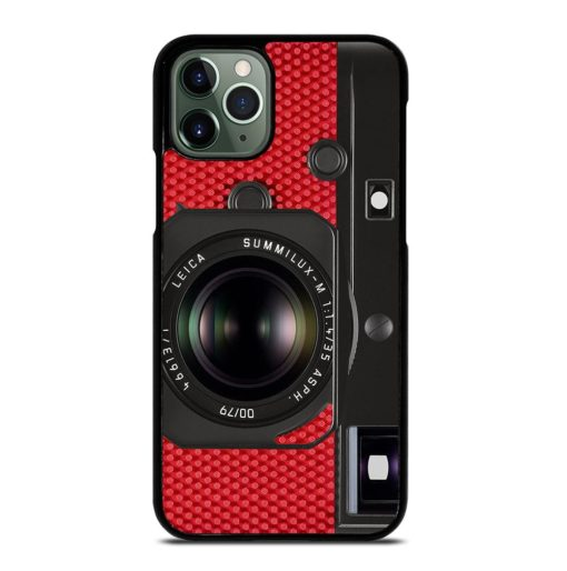LEICA SEES RED CAMERA iPhone 11 Pro Max Case