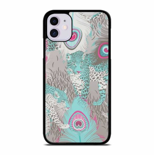 LEOPARD PEACOCK iPhone 11 Case Cover