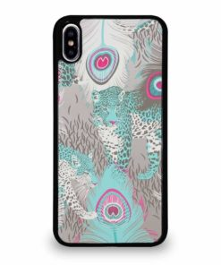 LEOPARD PEACOCK iPhone XS Max Case