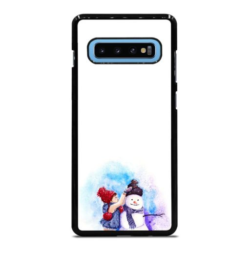 LITTLE KID AND THE SNOWMAN'S Samsung Galaxy S10 Plus Case