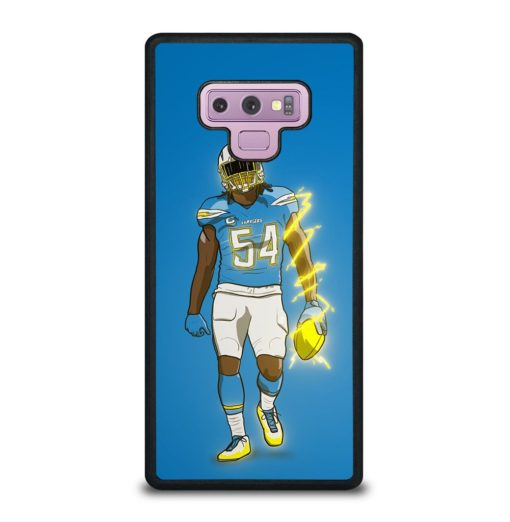 Los Angeles Chargers Melvin Ingram Samsung Galaxy Note 9 Case