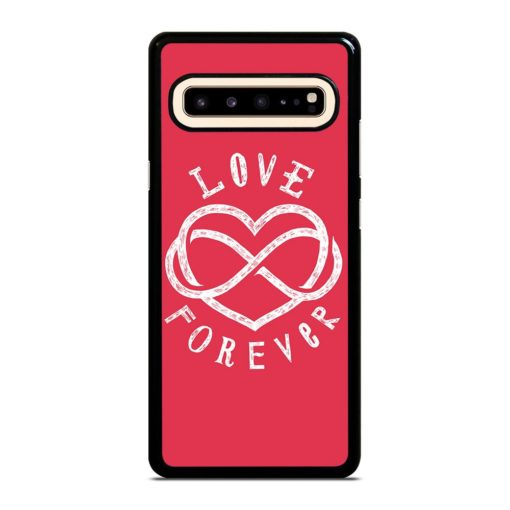 Love Forever Quotes Samsung Galaxy S10 5G Case