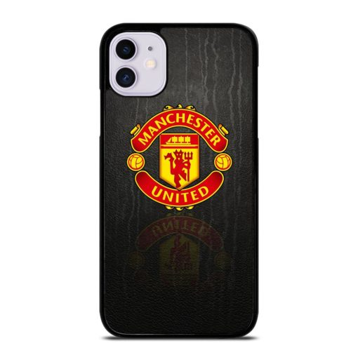 MANCHESTER UNITED LOGO PATTERN iPhone 11 Case