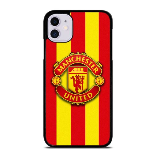 Manchester United Stripes iPhone 11 Case