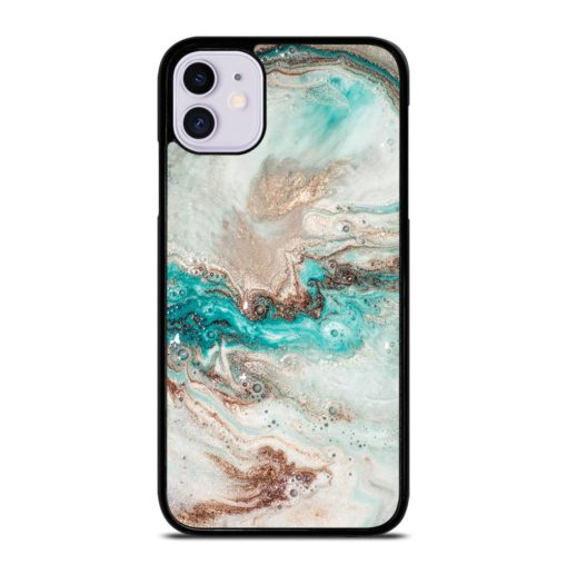 MARBLE IRIDESCENT HOLOGRAPHIC iPhone 11 Case