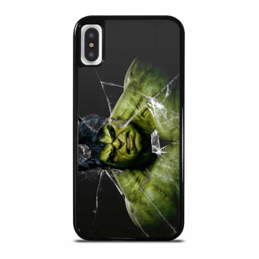 MARVEL HULK BROKEN GLASS iPhone X/XS Case Cover