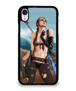 METAL GEAR SOLID QUIET SEXY FEMALE SNIPER iPhone XR Case