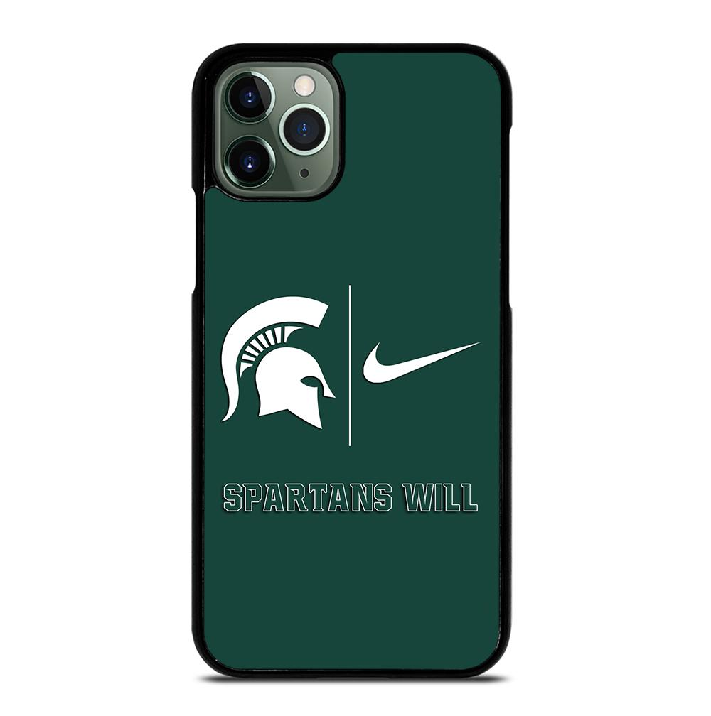 Michigan State Spartans Nike iPhone 11 Pro Max Case