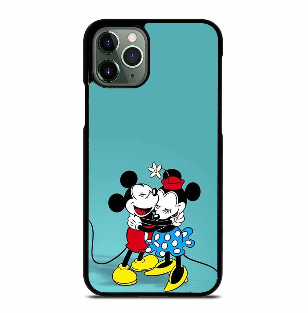 MICKEY MOUSE HUGGING MINNIE MOUSE iPhone 11 Pro Max Case