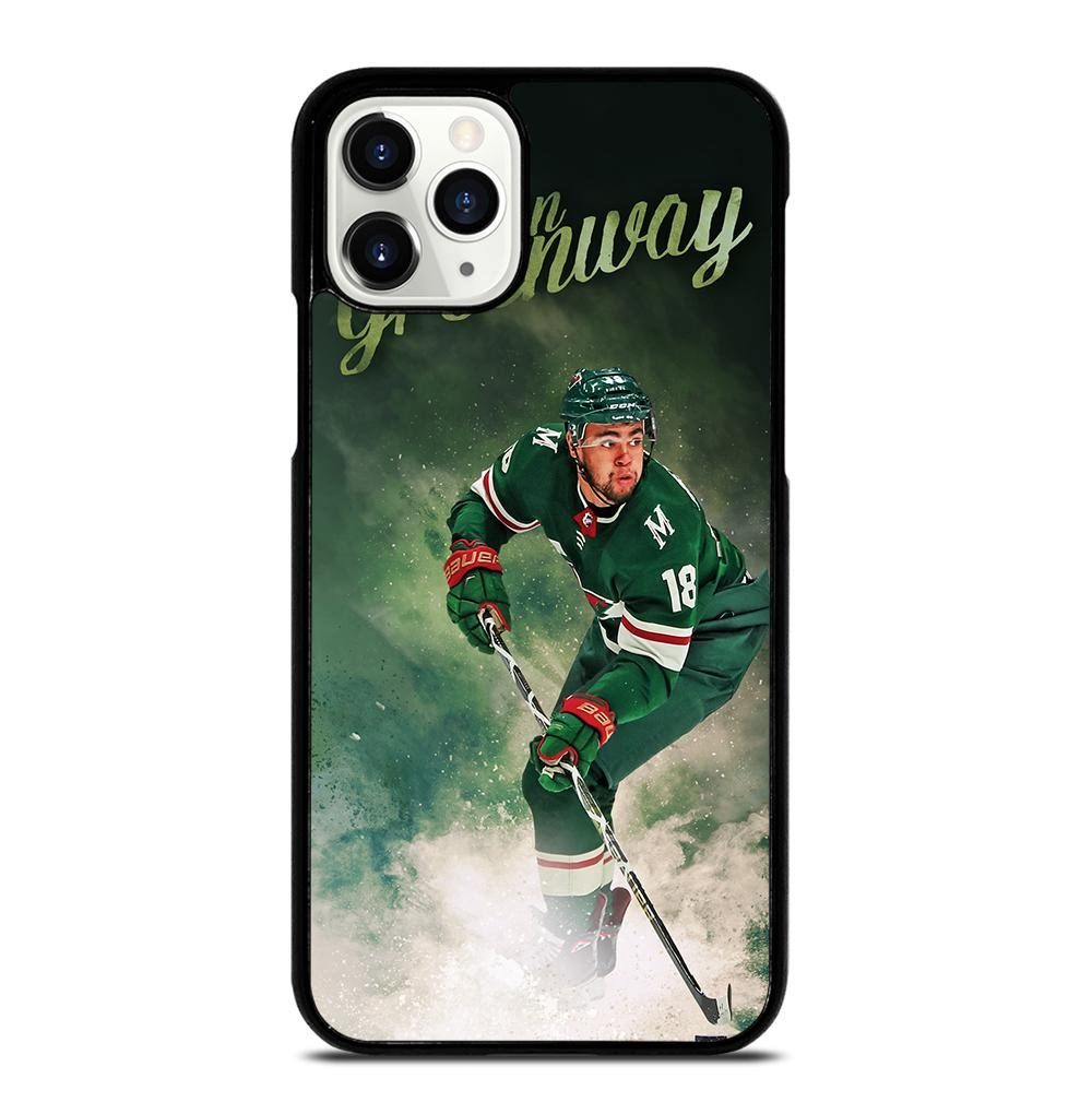 Minnesota Wild Jordan Greenway iPhone 11 Pro Case