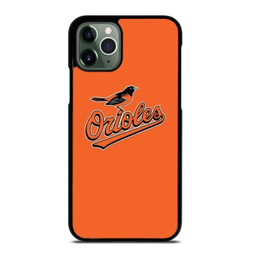 MLB Baltimore Orioles Logo iPhone 11 Pro Max Case