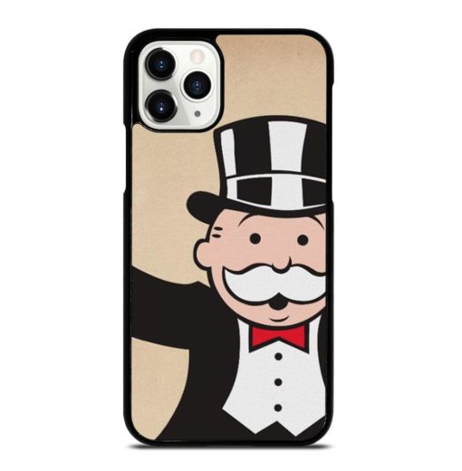 Monopoly Uncle Pennybags With Cane iPhone 11 Pro Case