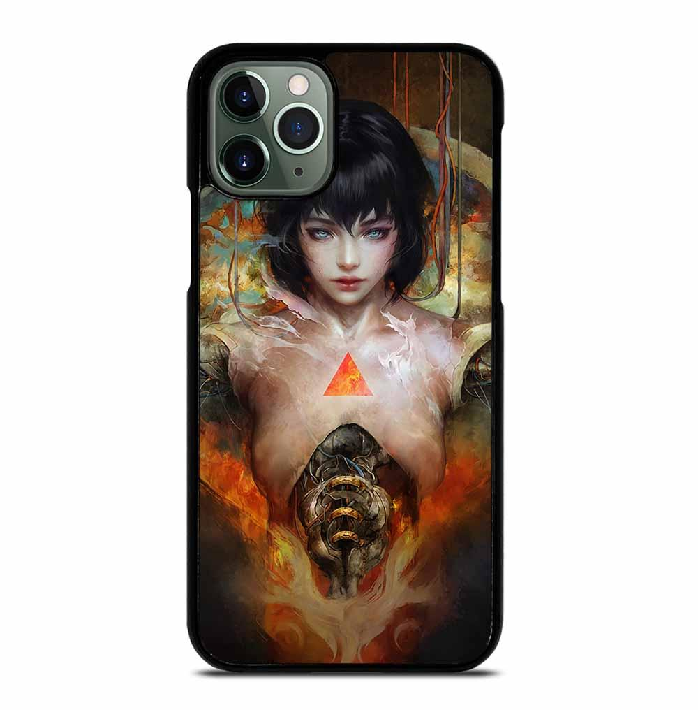 MOTOKO KUSANAGI GHOST IN THE SHELL iPhone 11 Pro Max Case
