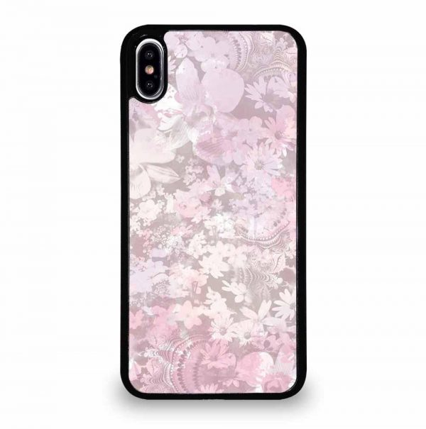 MURIVA KARINA PASTEL FLOWER PATTERN iPhone XS Max Case Cover