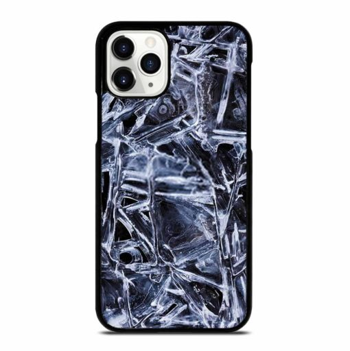 NATURAL PATTERNS OF FROZEN WATER SURFACE iPhone 11 Pro Case