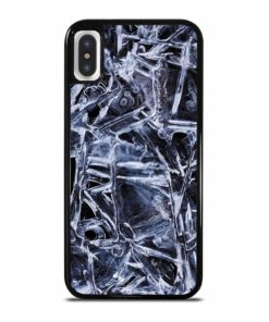 NATURAL PATTERNS OF FROZEN WATER SURFACE iPhone X/XS Case