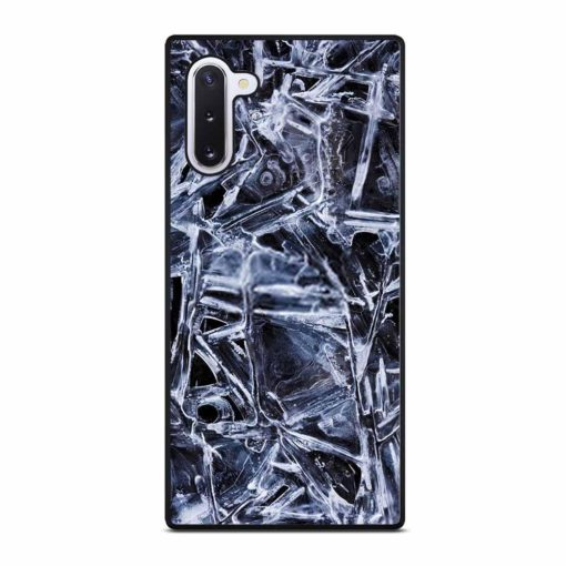 NATURAL PATTERNS OF FROZEN WATER SURFACE Samsung Galaxy Note 10 Case
