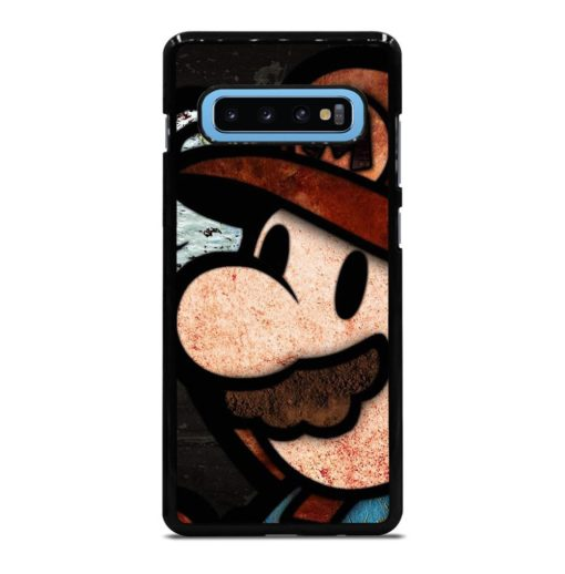 Nintendo Super Mario Luigi Bros Samsung Galaxy S10 Plus Case