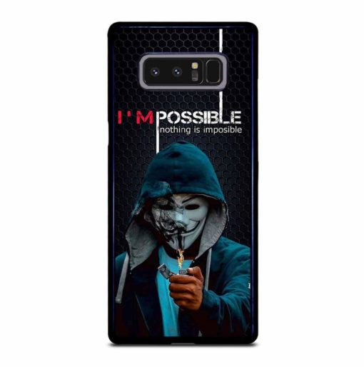 NOTHING IMPOSSIBLE Samsung Galaxy Note 8 Case