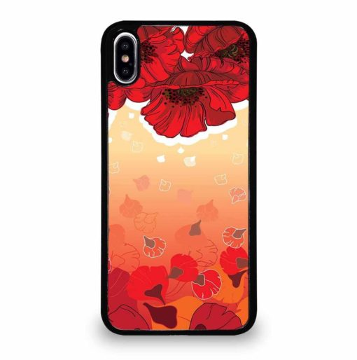 OCTOPUS FLOWER GARDEN iPhone XS Max Case Cover